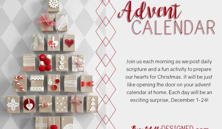 Beautifully Designed Advent Calendar is Coming