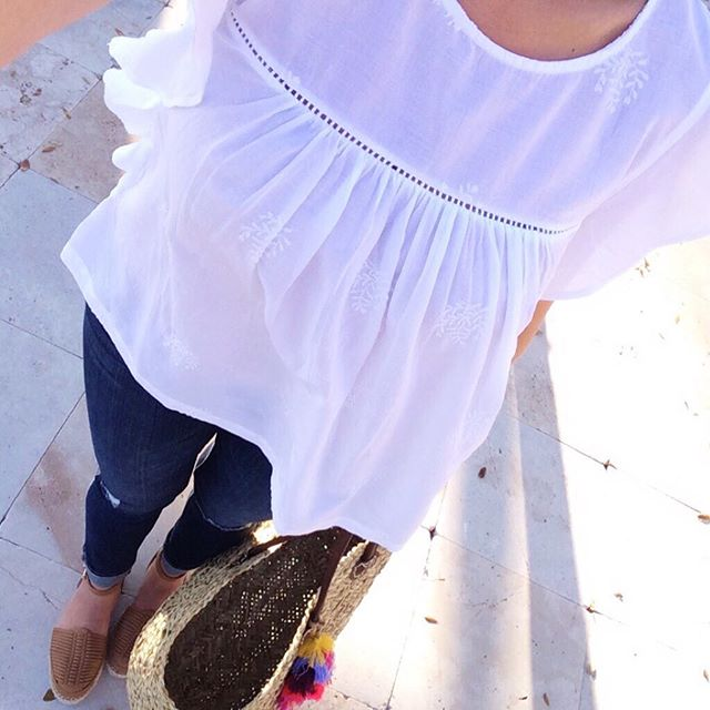 Old-Navy-embroidered-white-top