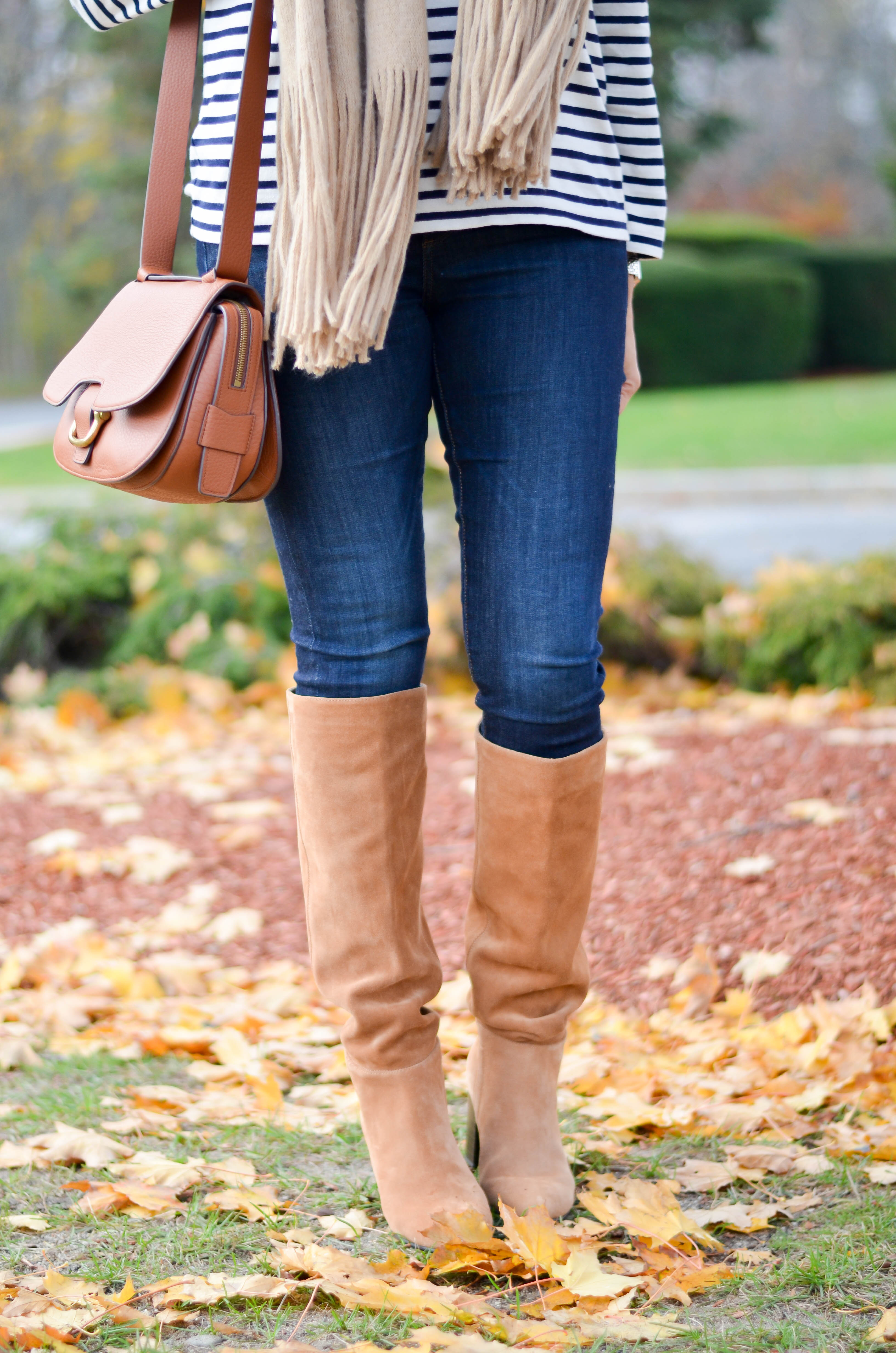 best knee high slouchy boots
