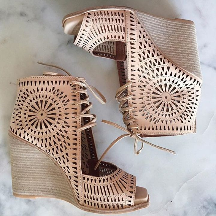 laser cut wedges
