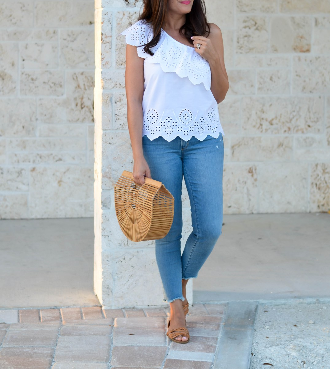 THE BEST EYELET TOPS TO BUY FOR SPRING