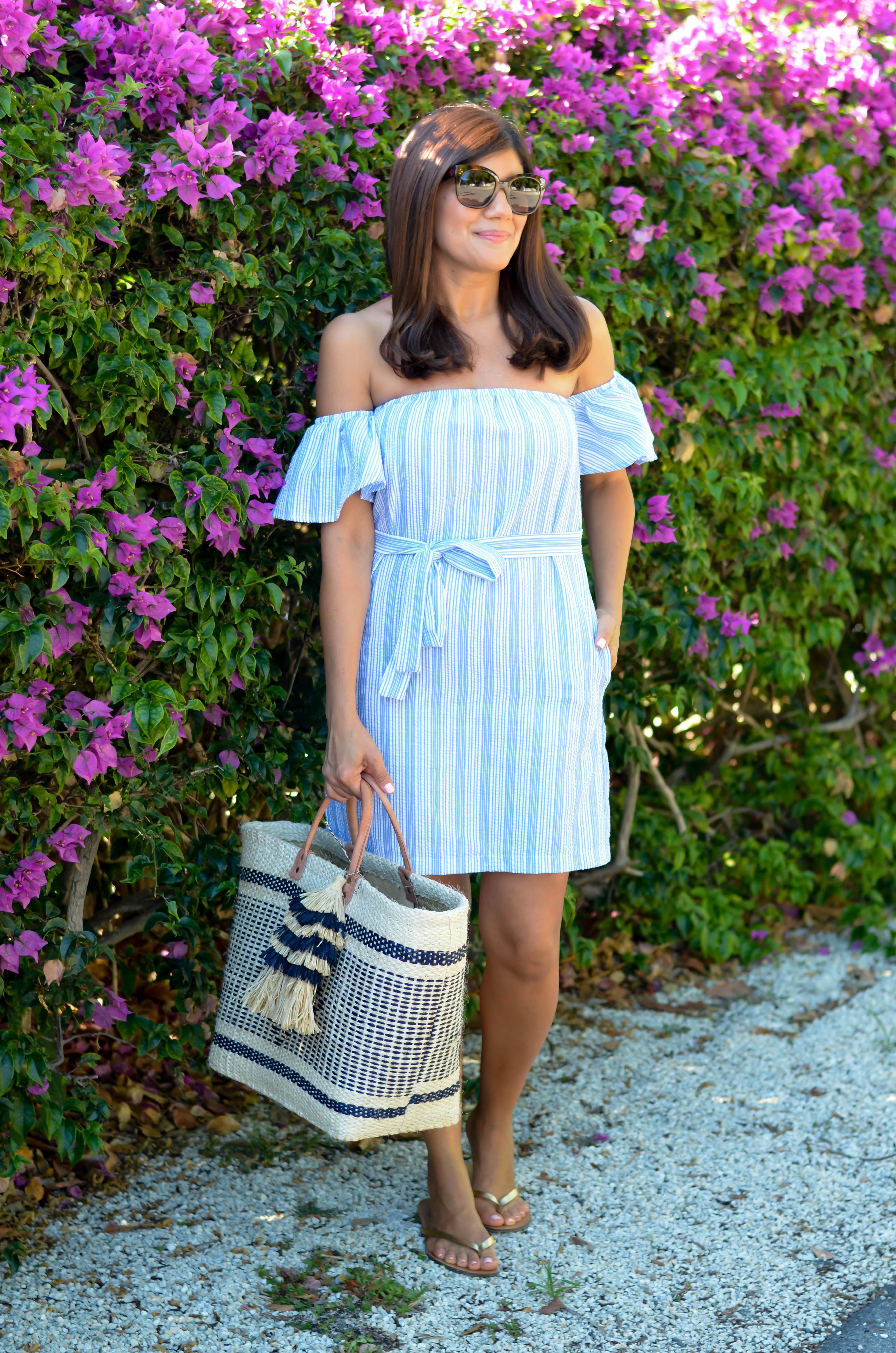 summer dress series perfect little vacation dress