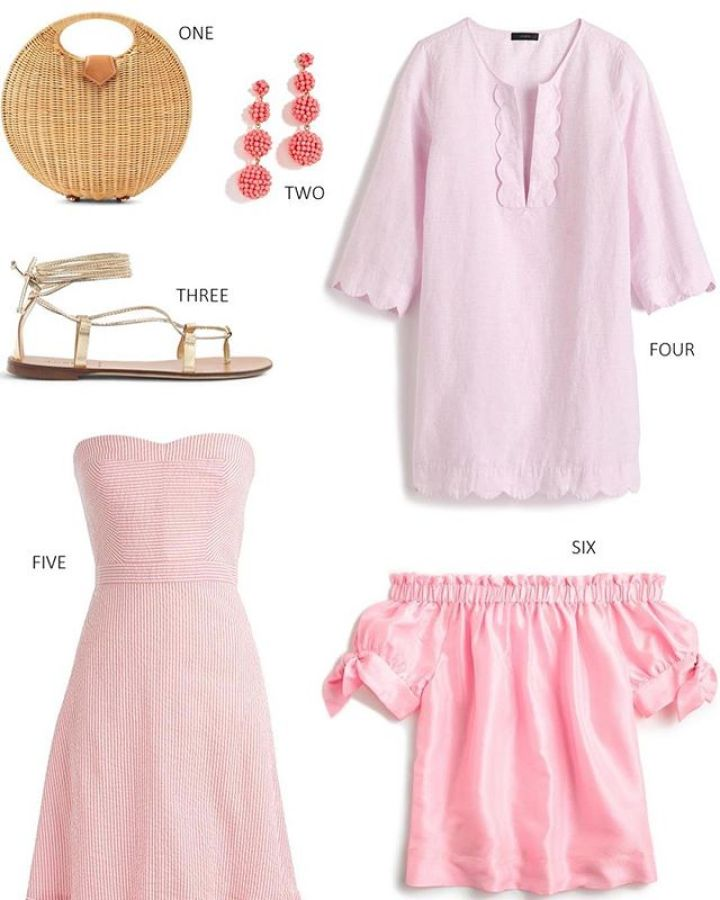 summer pink J.Crew