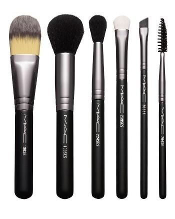 M.A.C basic makeup brushes