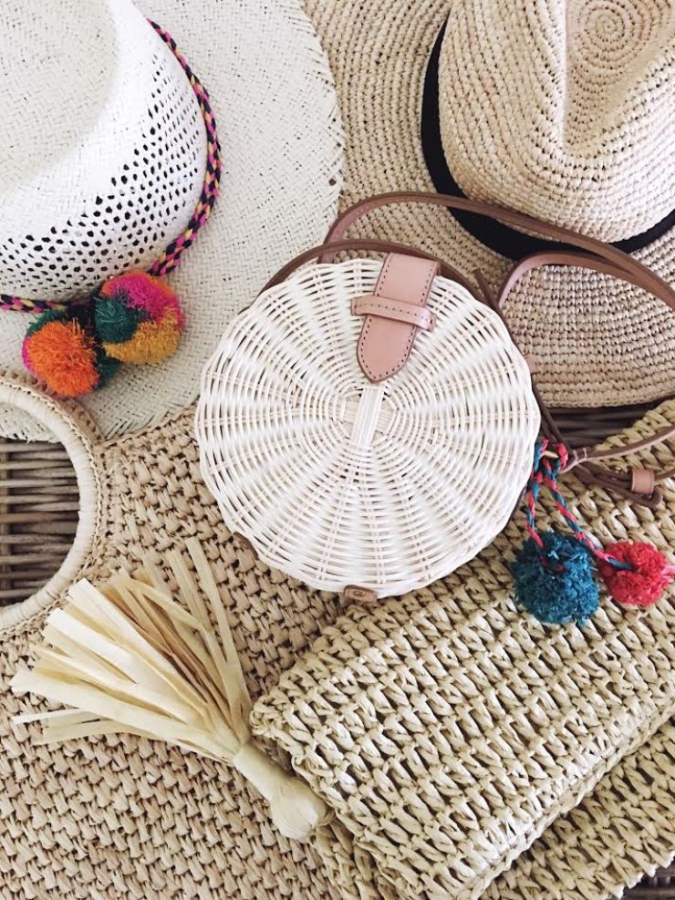 15 straw accessories to compliment your summer wardrobe