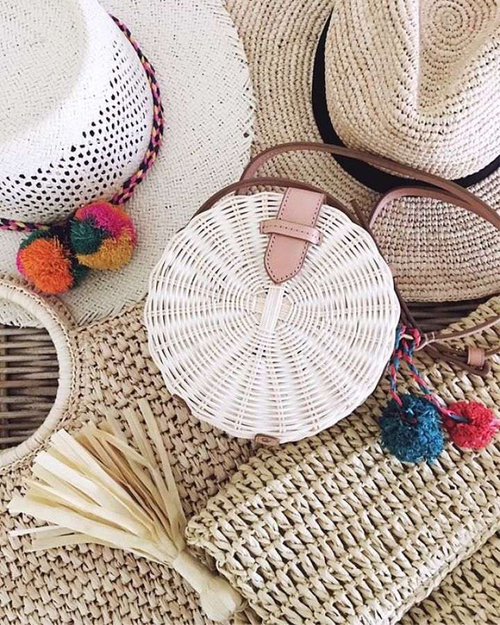 straw summer bags