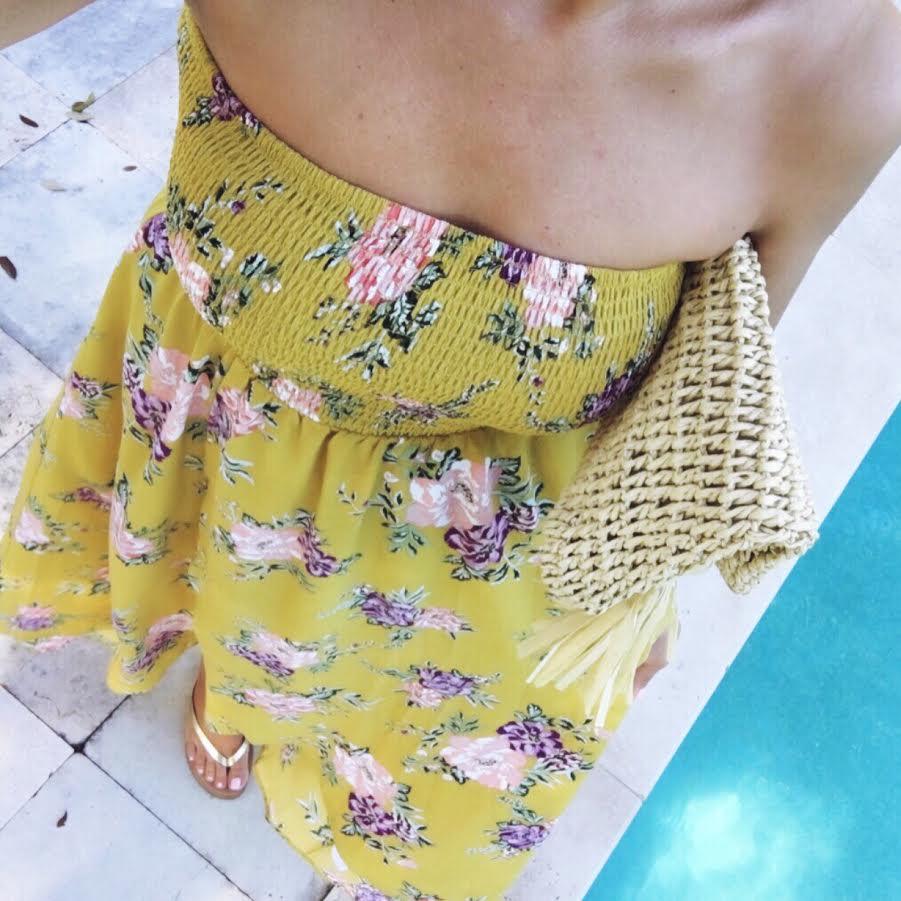 floral maxi dress Nordstrom