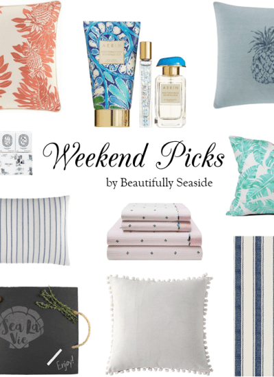 WEEKEND PICKS // NORDSTROM ANNIVERSARY SALE FOR THE HOME