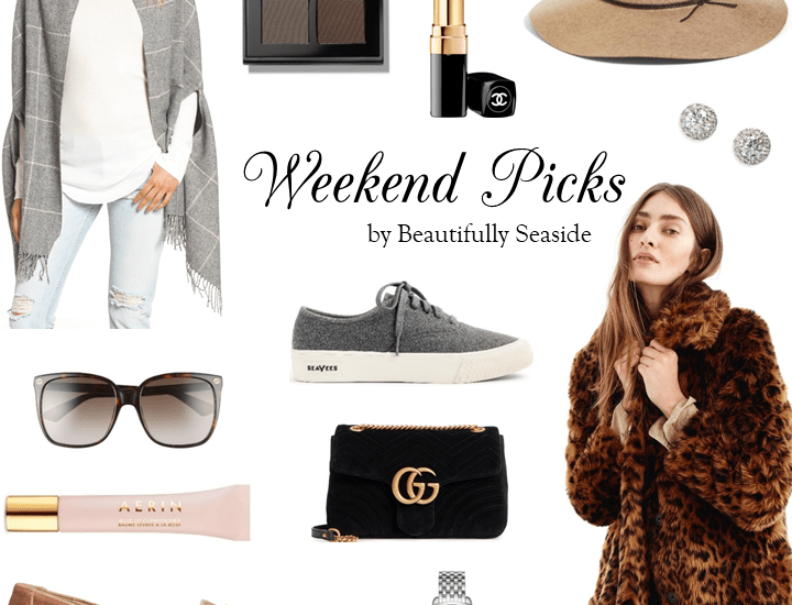 WEEKEND PICKS // CHIC FALL FINDS