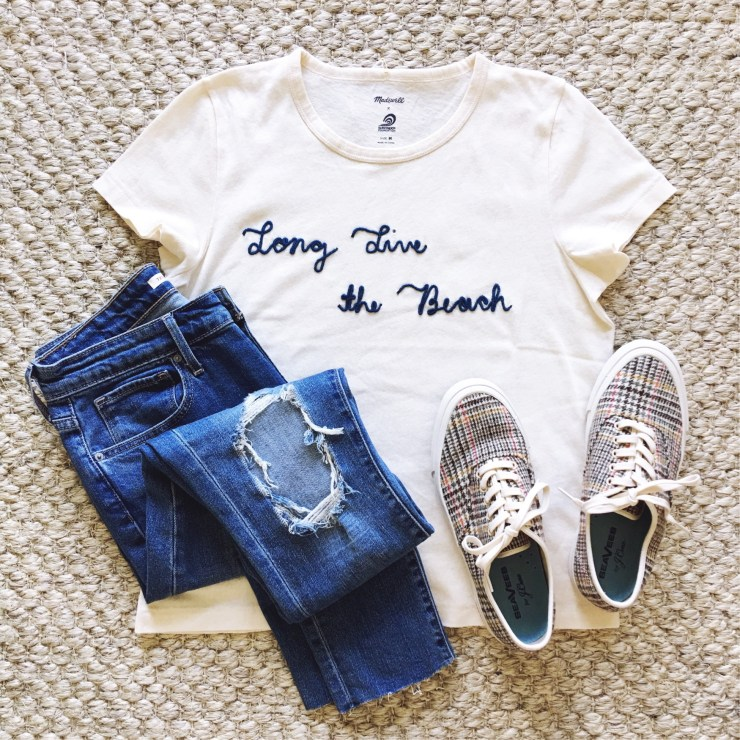 Long Live the beach tee Madewell
