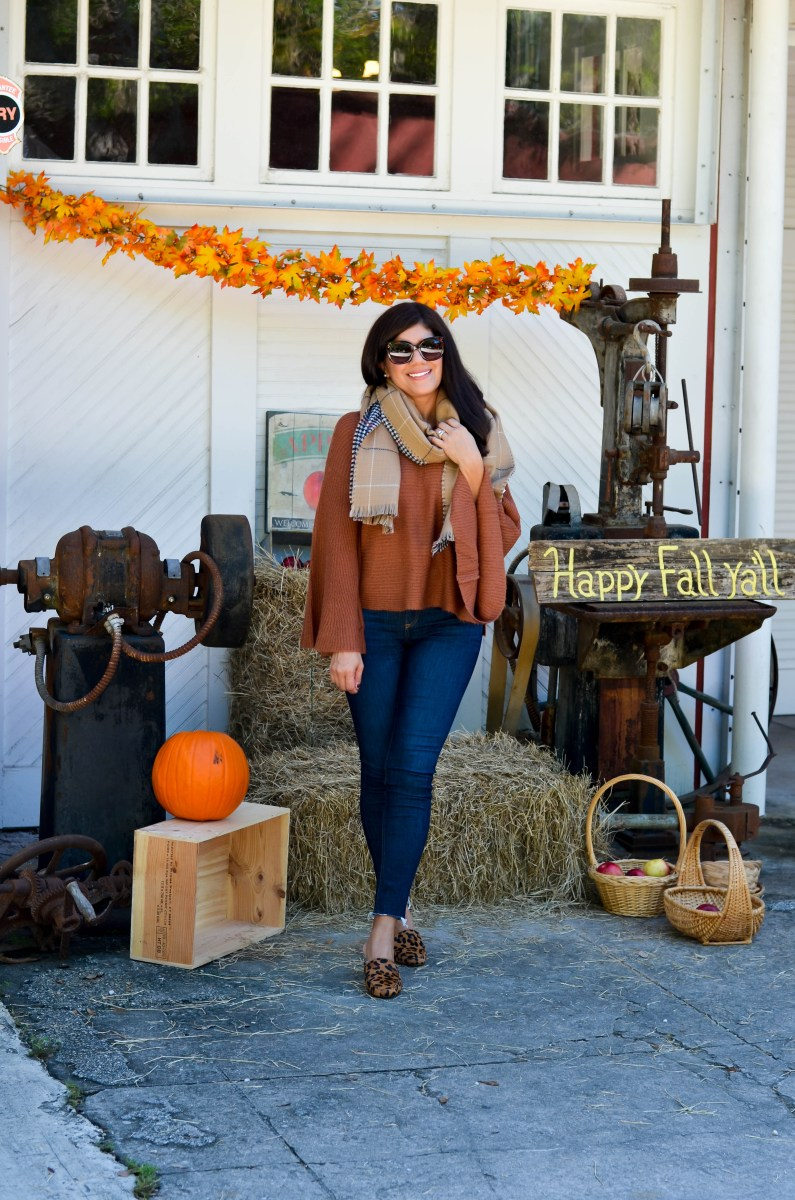 COZY FALL LOOK