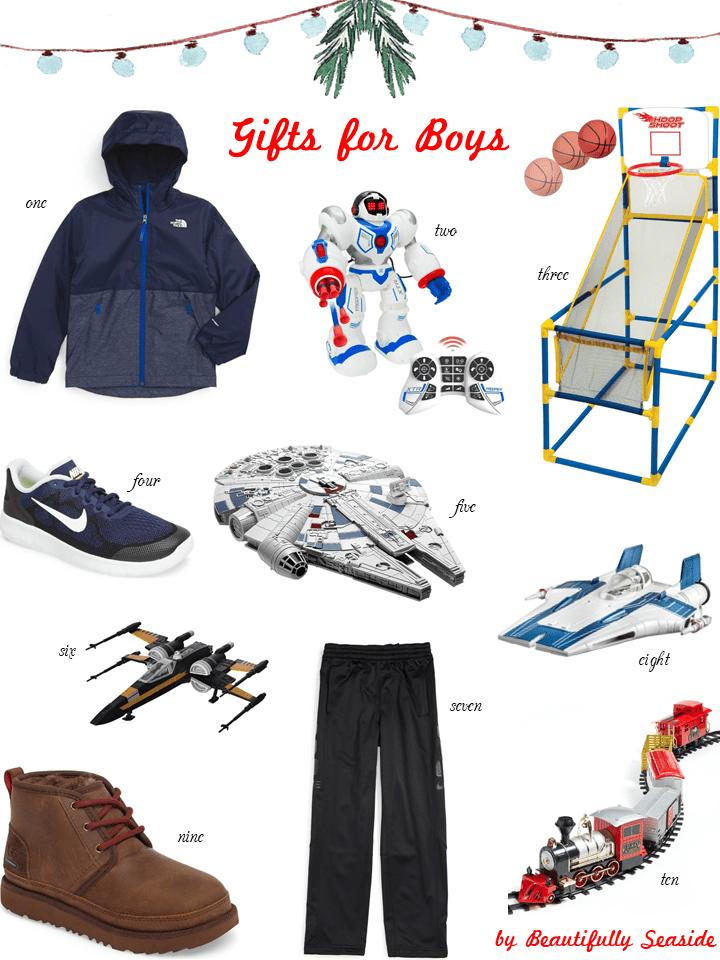 Christmas Gifts For Boys 2017