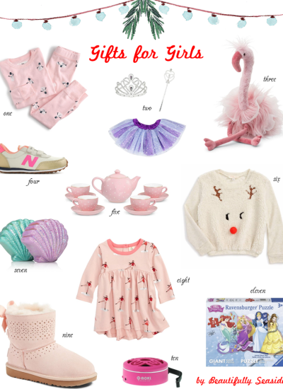HOLIDAY GIFT GUIDES FOR GIRLS & BOYS