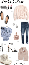 Beautifully Seaside's Looks I Love featuring festive neutrals for the Christmas season