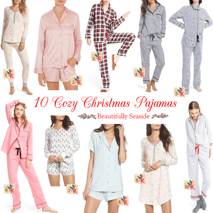 10 Cozy Christmas Pajamas Beautifully Seaside