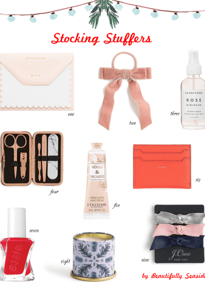 HOLIDAY GIFT GUIDE: STOCKING STUFFERS FOR HER