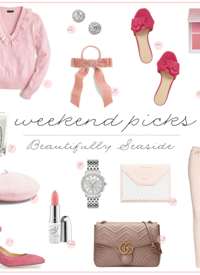 WEEKEND PICKS // PRETTY IN PINK FOR VALENTINE'S DAY