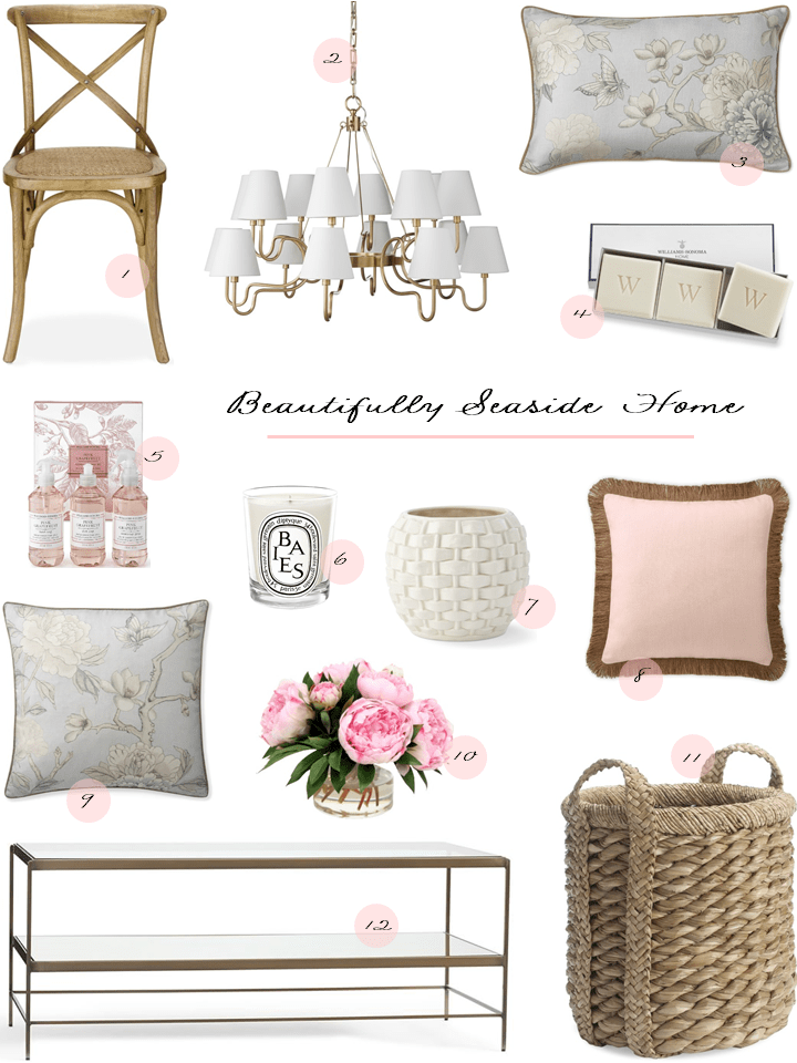 Spring Home Decor with Beautifully Seaside