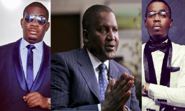 Aliko Dangote's Cheque Made Olamide Prostrate for Don Jazzy