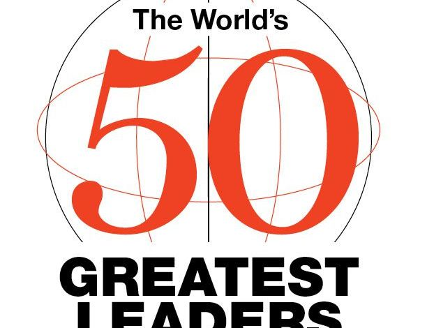 Top 50 World's Greatest Leaders 2016, Three Africans Made The List