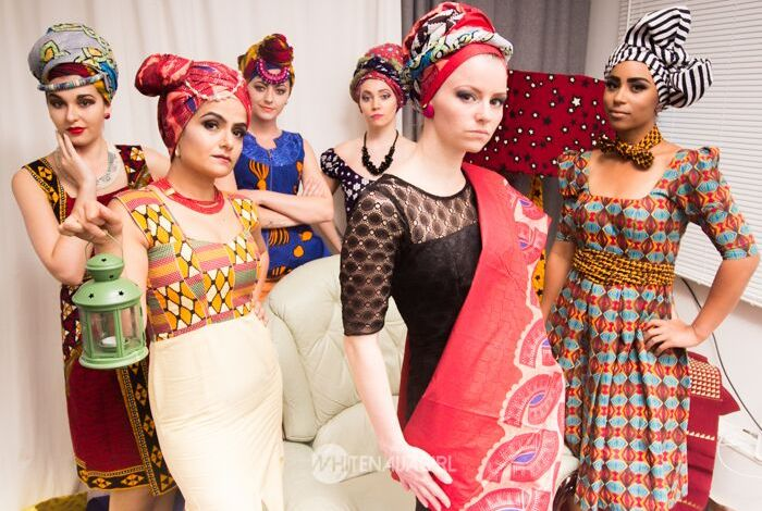 White Naija Girl Vows to Make Nigerian Fashion Popular in Europe