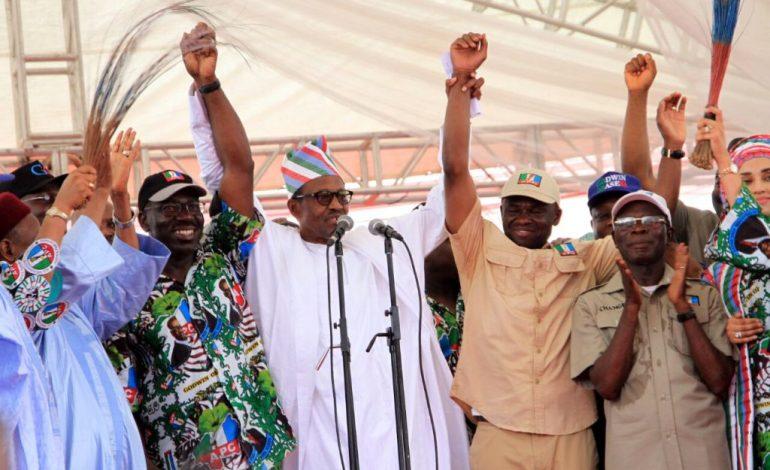 Edo Election: President Buhari Congratulates Gov. Oshiomhole and Godwin Obaseki