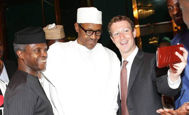 Mark Zuckerberg Back In Nigeria to Meet with President Muhammadu Buhari (Photos)