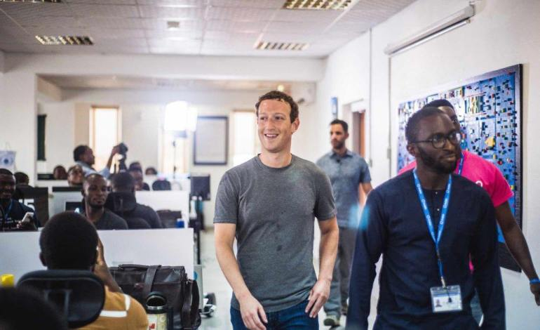 17 of The Best photos of Mark Zukerberg's Visit to Lagos