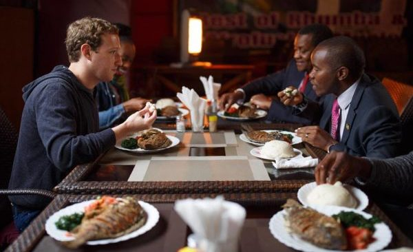 Mark Zuckerberg in Kenya After Spending Two days in Lagos