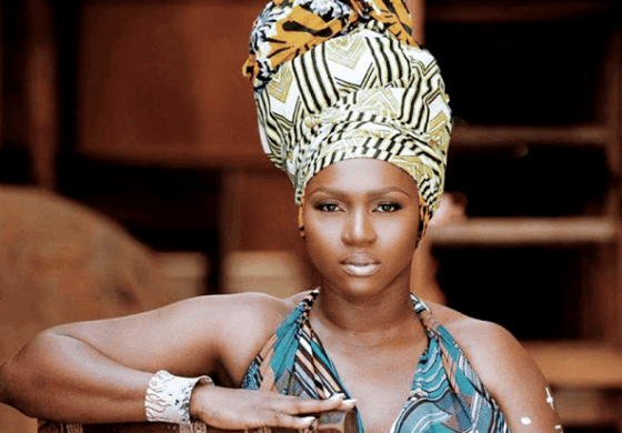 Singer Waje Hits Us With Some Amazing Photos Inspired By African Print And Accessories