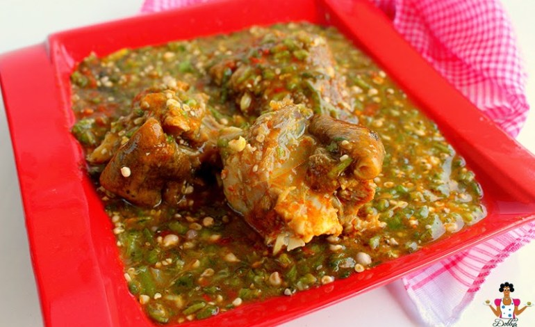 12 Mouth-watering Okra Soup Photos, Am Drooling