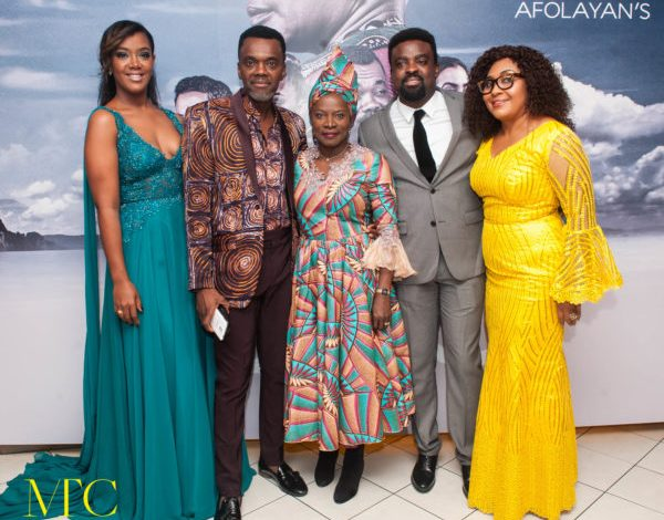 """Angelique Kidjo And Others In London For The Premiere of Kunle Afolayan's """"The CEO"""""""