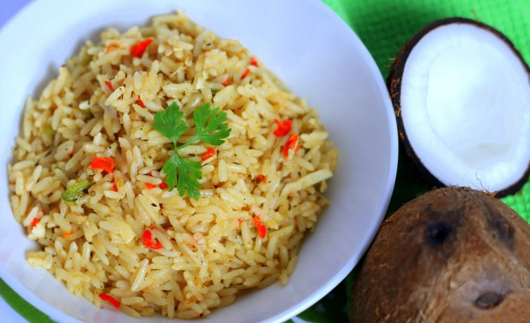 How to Make Nigerian Coconut Rice