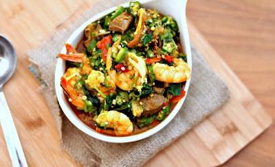 How to Make Okra Soup, Mama Style