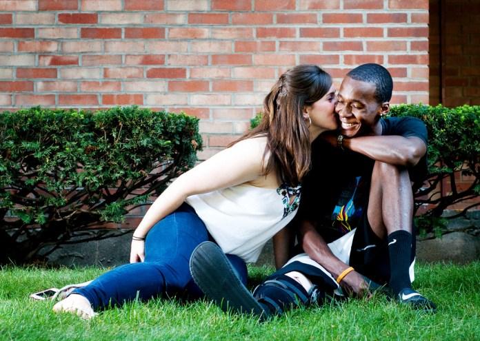 young Interracial couples