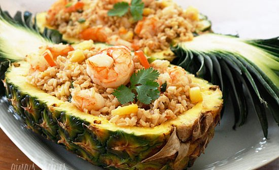 How to Make Mouth Watering Pineapple Fried Rice