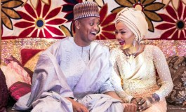 Zahra Buhari And Ahmed Indimi Tie The Knot Today!
