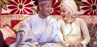 Photos of Zahra Buhari And Ahmed Indimi's wedding