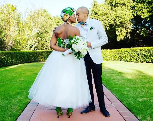15 Beautiful Ankara Inspired Wedding Gown Styles For Modern Brides