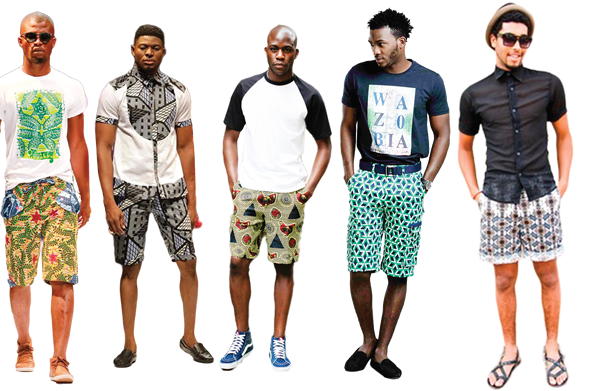 Ankara Shorts for Fashionable Men