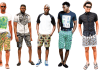 Ankara shorts for Men