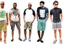 Ankara shorts for Men
