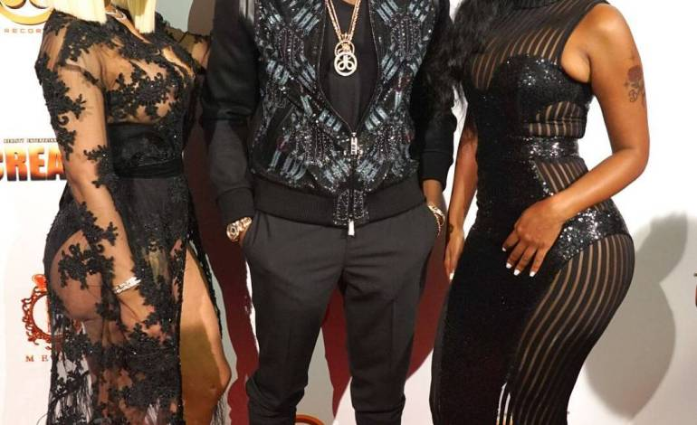 """Photos of Blac Chyna And Bernice Burgos At D'Banj's """"King Don Come"""" Exclusive Listening Party"""