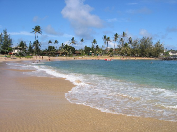 Poipu Beach, Kauai, Hawaii