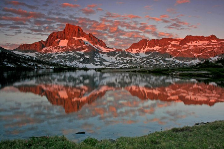 Banner Peak and Thousand Island Lake, Ansel Adams Wilderness, Sierra Nevada, California
