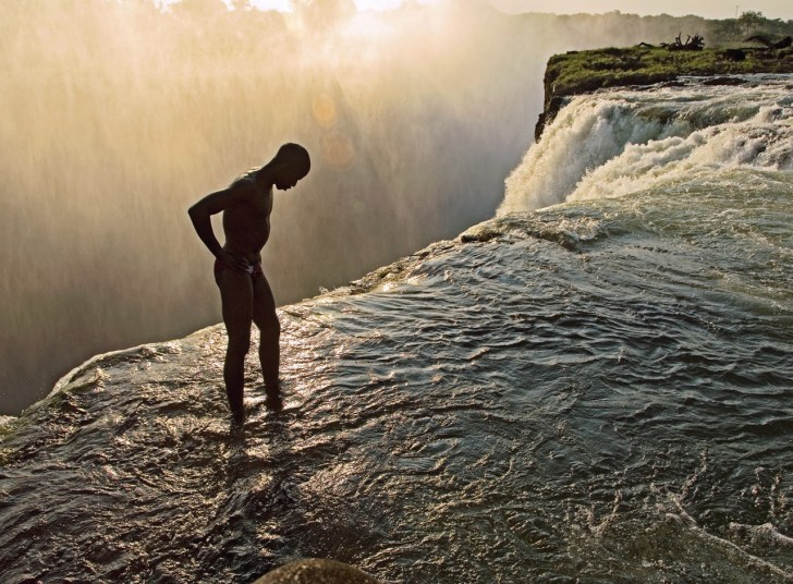 Devil's Pool, Victoria Falls, Zambia and Zimbabwe