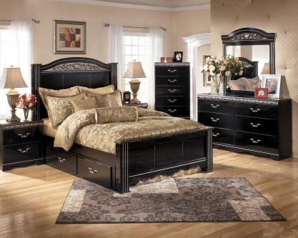 ashley-furniture-quality-best-design-of-bedroom-set-with-wooden-brown-cabinet-and-brown-wall-and-white-glass-window-and-brown-quilt-bed-with-brown-laminating-flooring-and-glass-window