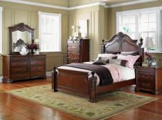 excelsior-bedroom-group-best-design-of-bedroom-set-with-wooden-brown-cabinet-and-brown-wall-and-white-glass-window-and-brown-quilt-bed-with-brown-laminating-flooring-and-glass-window