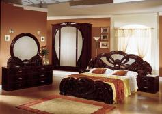 modern-furniture-stores-small-bedrooms-with-all-wooden-furniture-astonishing-neutral-bedroom-with-classic-brown-storage-design-also-licious-small-hang-lamp-decor-soft-paint-colors