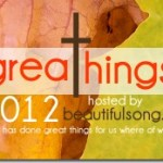 GreaThings 2012: things I've learned